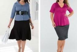 Как выбирать одежду полным женщинам